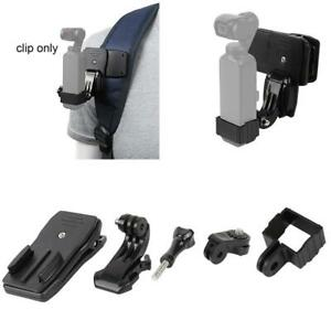 Backpack Clips Clamp Mount Holder For DJI OSMO Pocket Gimbal Accessories