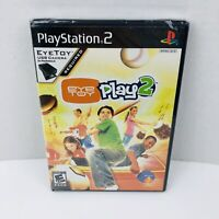 EyeToy Play 2 Sony PlayStation 2 PS2 Video Game New Sealed GAME ONLY