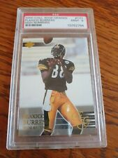 Plaxico Burress 2000 Collectors Edge PSA Graded MT 9 Football Card NFL Steelers