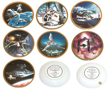 Star Wars Vehicles Collector Plate Hamilton Collection Sonia R Hillias
