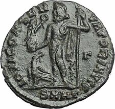 Licinius I Constantine The Great enemy 313AD Ancient Roman Coin Jupiter  i54876