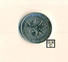 2015 $8 Canadian Maple Leaf 1.5 oz .9999 Fine Silver Coin (OOAK)