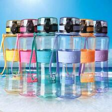 Portable 450/ 600ML Water Bottle Hiking Cycling Water Sports Drinking Bottle Cup
