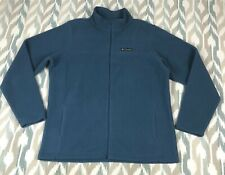 Columbia Sportswear Mens Boulder Springs Full Zip Fleece Jacket Size L Large