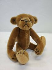 "LM Vintage Artist Bear Bearly There My Ted Mini 10"" Jointed Mohair Teddy Bear"