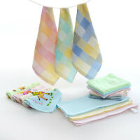 Hand Face Towel Small Cotton Soft Wash Cleaning Cloth Bathroom Kitchen Bath 1pcs