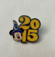 Parks 2015 Dated Booster Set Sorcerer Mickey Disney Pin