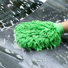 1pcs Car Wash Washing Microfiber Chenille Mitt Auto Glove Cleaning Dust Was F5X3
