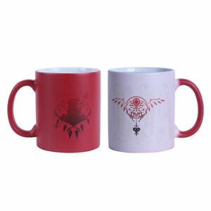 TouHou Project Saigyouji Yuyuko Discolor Water Cups Ceramic Mug Milk Tea Cups
