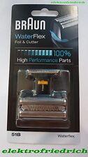 BRAUN Kombipack 51B WaterFlex + Series 5 NEU&OVP 8000 Serie schwarz Complete
