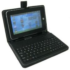 Universal 7 inch Tablet PC PU Leather Stand Cover With Micro USB Keyboard #M