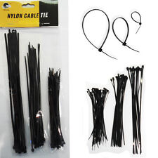 Ties Nylon Cable Zip Wire Black 60x Ties Strong 3 Size Industrial Wraps Plastic