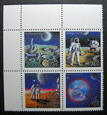 Russia 1989 #5836a MNH OG Russian Soviet Space Achievements Expo 89 Set $3.00!!