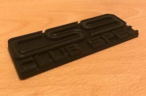 Rare JDM CS9 Club For Subaru Black Decal Nameplate Lid Emblem Badge Japan Trim