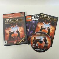 Star Wars Episode III: Revenge of The Sith w/manual (Sony Playstation 2/PS2)