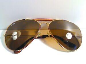 62[]14 Vintage Ray-Ban Ray Ban B&L Bausch & Lomb USA  Aviator Sunglasses No Case