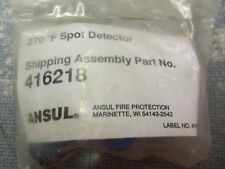 Ansul 270 Degree F Spot Detector 416218 New Free Shipping