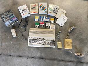 Commodore Amiga 500 mit viel Zubehör Retro Computer Vintage PC