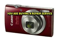 REPAIR SERVICE for your CANON ELPH 180 Digital Camera with a 60 Day Warranty