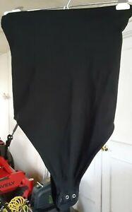 VINTAGE Victoria's Secret thong panty strapless body suit. Sz. Large