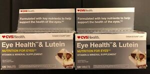 LOT 240 Tablets CVS Eye Health Lutein Nutrition Supplement Compare Ocuvite 2 120