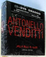 ANTONELLO VENDITTI - DALLA PELLE AL CUORE - CD + DVD Special Edition Sigillato