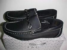 Men's Black Slip On Loafers Casual/Dress 7-8-9-10-11-12 NEW IN BOX by Evergreen