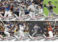 2017 Topps UPDATE Series Baseball COMPLETE BASE SET #US1-US300 Bellinger-Judge++