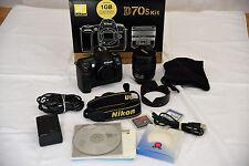 Nikon D70s Kit, D70s, AF-S Zoom-Nikkor 18-70mm f/3.5-4.5G IF ED