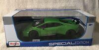 Maisto 1:18 Special Edition Lamborghini Huracan Performante Green 31391GRN Model