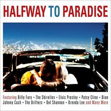 Halfway To Paradise VARIOUS ARTISTS Best Of 50 Love Songs MUSIC New Sealed 2 CD