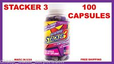 Stacker 3 100 Capsules Bottle Ephedra free Energy & Weight Loss 10/2021