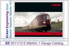 EE 2011/12 NEW 1 Gauge Marklin Catalog 2011 2012