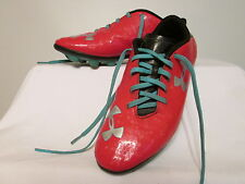 UNDER ARMOUR BLUR RED /BLACK/BLUE SOCCOR Cleats Size 5.5Y