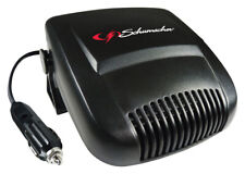 Schumacher  Black  1 pk 12 volts Automotive/ Car  Ceramic Heater and Fan
