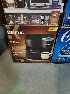 Keurig K-Duo 12-Cup Coffee Maker and Single Serve K-Cup Brewer - READ DESCRIPTIO