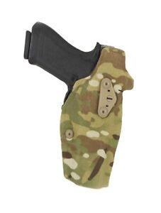 Safariland 6354DO-83-701-MS19 ALS Optic Multicam Glock 17/22 Holster w/ QLS Fork