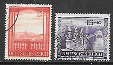 GERMANY - 1941,  Vienna Fair and Culture Fund - Set of 2, Used