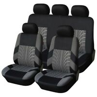 Full Car Seat Cover Seat Protection Car Accessories Gray/Red/Blue/Beige