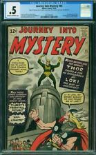 JOURNEY INTO MYSTERY 85 1 ST LOKI THOR CGC LOOKS VGFN 5.0 $2000+ BOOK!