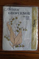 VINTAGE Collant Aristoc Grosvenor Calze 10.5-11 peachbloom