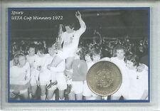Tottenham Hotspur Spurs Vintage UEFA Cup Final Winners Retro Coin Gift Set 1972