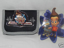 New With Tags Jimmy Neutron Wallet Black And Gray Nickolodean