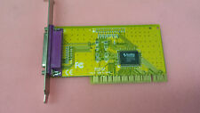 NM9805CV PCI 1 PORT  PARALLEL ECP/EPP CARD printer port card tested working