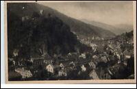 Hornberg Schwarzwald alte Postkarte 1925 gelaufen Schwarzwald Bahn Gesamtansicht