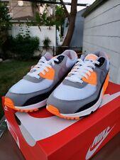 Nike Air Max 90 OG Recraft White Grey Total Orange CW5458-101 Sizes 7 - 13