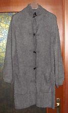 Giacca donna misto lana / acrilico grigia Taglia 42 La redoute