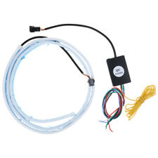 3 Color Flow Type Flowing LED Strip Car Trunk Side Turn Signal Rear Light