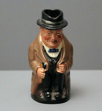 Royal Doulton Winston Churchill Toby Jug 4 inch Made in England