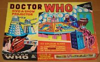 DR DOCTOR WHO CHAD VALLEY GIVE-A-SHOW PROJECTOR COMPLETE W/ BOX GREAT CONDITION